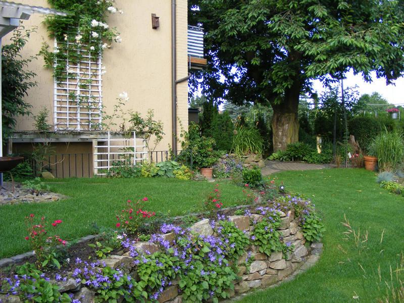 Garten und Landschaftsbau Hamm Melbert Natursteinmauer